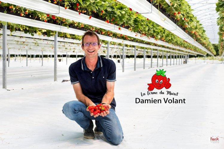 Portrait corporate de Damien Volant de la ferme du Muret à Quend